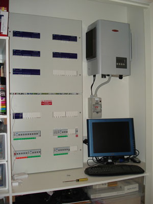 CBUS automation installation for most electrical devises.