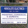 Absolute Electrics domestic energy saving electrician