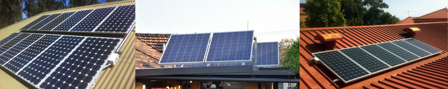 Absolute electrics solar electricity installation